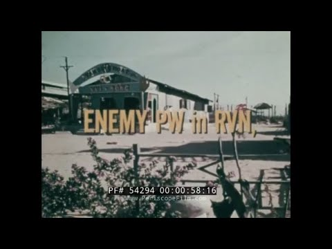 U.S. ARMY TREATMENT OF NORTH VIETNAMESE & VIET CONG ENEMY PRISONERS OF WAR   54294