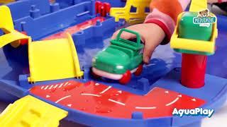 Vodní dráha pro děti AquaPlay LockBox v kufříku s
