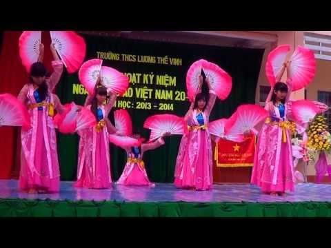"""[THCS Lương Thế Vinh năm học 2013-2014] Múa """"Việt Nam Gấm Hoa"""