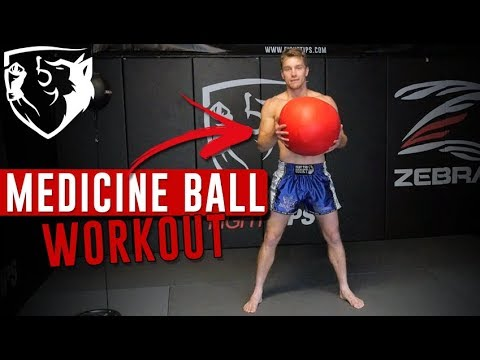 Medicine Ball Circuit Workout: Explosive Speed + Power