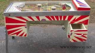 Upcycled Pinball Machine Desk - Tim Sway Perspectives