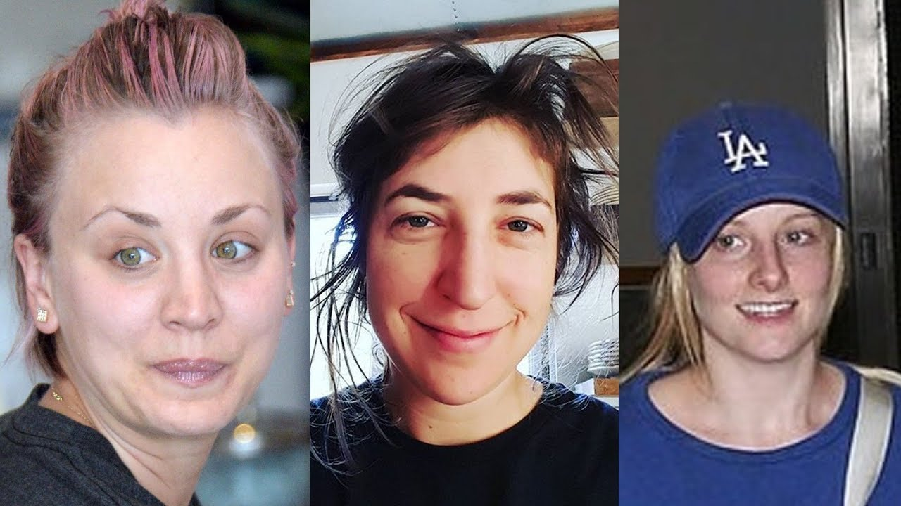 The Big Bang Theory Without Makeup - Youtube-4792
