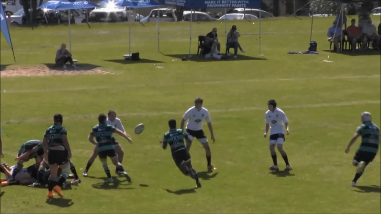 Angelo Davids Rugby Highlights Stellenberg 2016