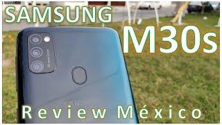 Samsung M30s Review en español / buena bateria y pantalla