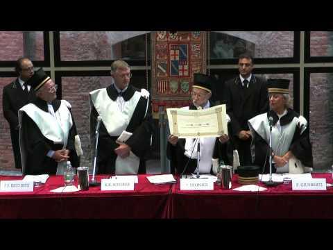 UniBo - Laurea honoris causa a Klaus Scherer