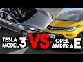 Opel Ampera-e VS Tesla Model 3: ¿Cuál es mejor?