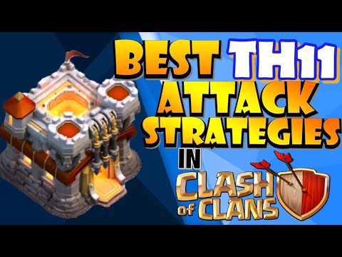 BEST TH11 ATTACK STRATEGIES To Get 3 Stars In Clash Of Clans!