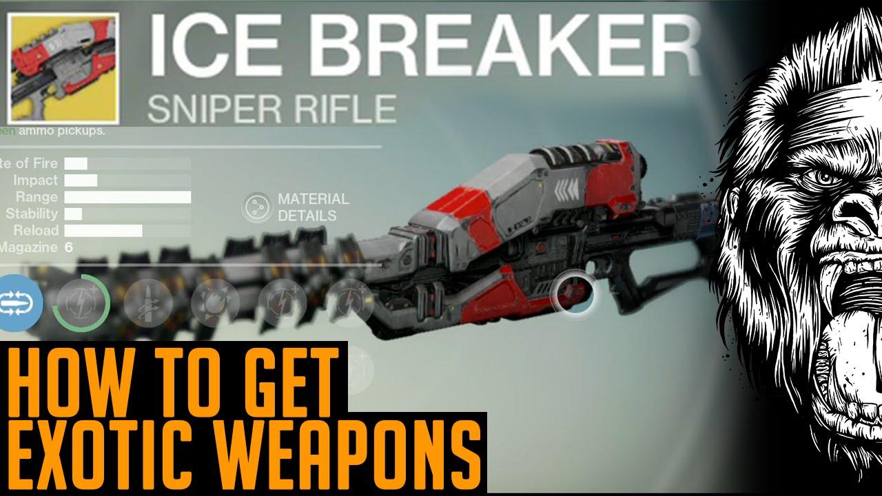 Destiny icebreaker how to get