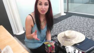 How to pack your hand luggage; My Tips :) London Stansted Airport!