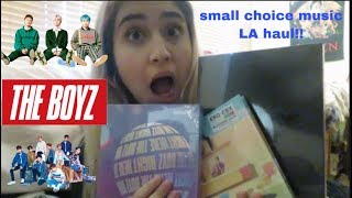 small choice music LA haul! (EXO, The Boyz, Stray Kids)