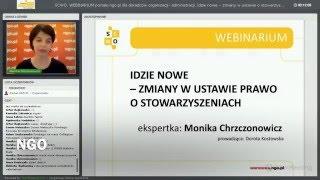 Webinarium portalu ngo.pl: