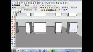 Sketchup Tutorial - Kitchen Designs Made Simple And Easy - Part 3