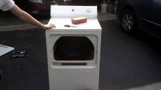 Brick in Dryer
