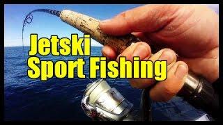 Gopro Jetski Fishing Light Tackle Sportfishing New Zealand West Coast