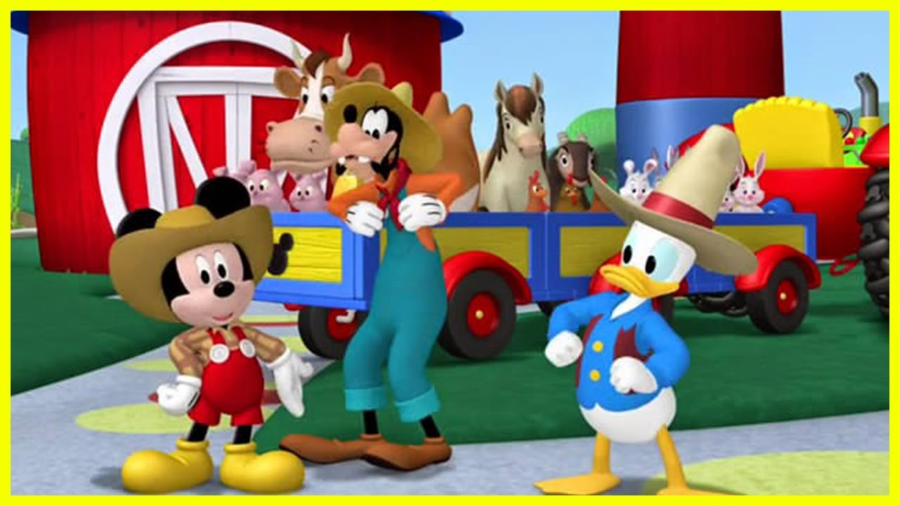 Mickey Donald Have A Farm Kids Books Youtube