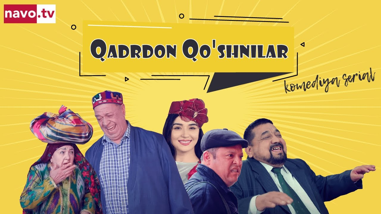 """Qadrdon qo'shnilar"" (12-qism) l ""Қадрдон қўшнилар"" (12-серия)"