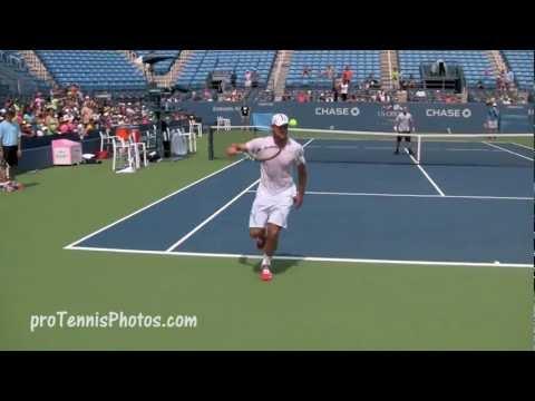 Roddick Double Tweener 2012 US Open