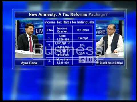 LIVE WIRE | New Amnesty: A Tax Reforms Package | Ayaz Rana | 06, April 2018