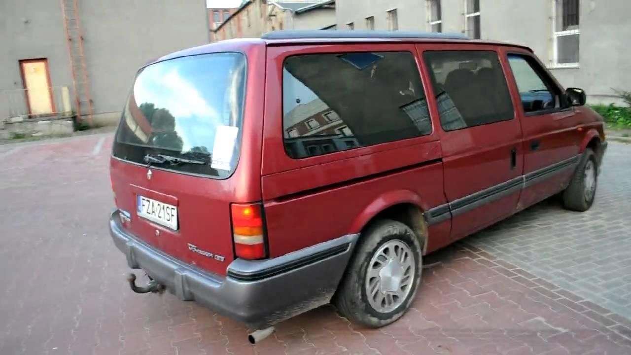 Dodge Grand Caravan For Sale >> chrysler grand voyager 1995 3.3 automat + gaz - YouTube