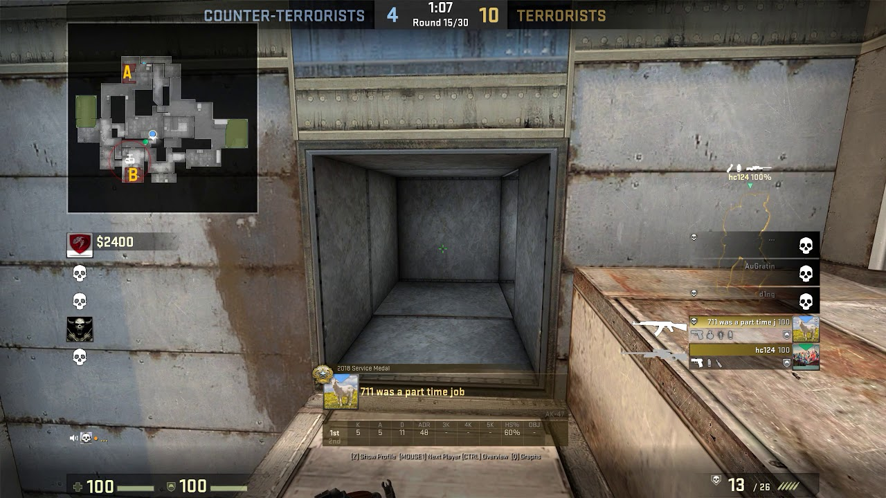 csgo your matchmaking experience will be