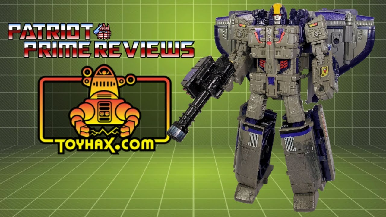 Toyhax Decal Set for Siege / Earthrise Astrotrain by Patriot Prime Reviews