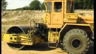 Производство земляных работ при строительстве автодорог