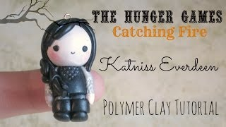 CATCHING FIRE: Katniss Everdeen | Polymer Clay Tutorial Thumbnail