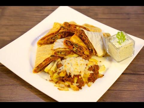 #وجبات_15_ثانية | السندوتشات التركية بجبن الموزريلا والسلطة