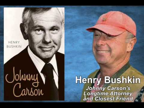 Interview with Henry Bushkin, Longtime Attorney & Closest Friend of Johnny Carson - Segment 1