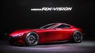 東京モーターショー2015 Mazda RX-VISIONに込めた想いとは