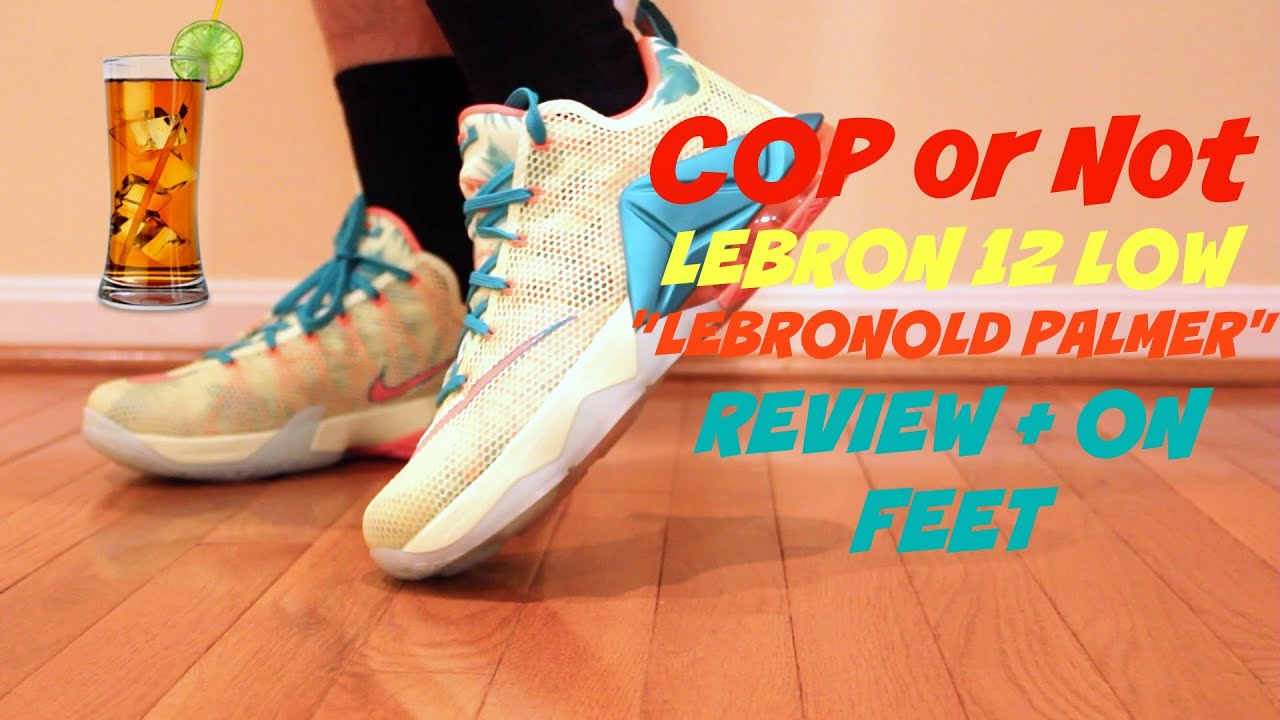 purchase cheap 3d4a1 e41a6 ... clearance lebron 12 xii low lebronold palmer review on feet 1080p hd  youtube 2ef8f 08e7e