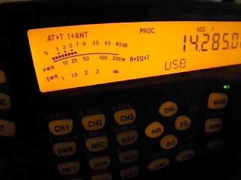 D67GIA - COMOROS - 14 MHz SSB