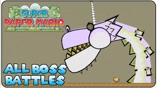 Super Paper Mario All Bosses
