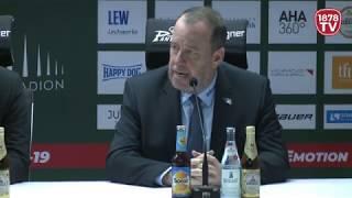 1878 TV | Pressekonferenz 24.02.2019 Augsburg-Schwenningen 3:1