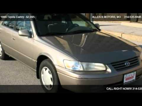 1999 toyota camry ce manual for sale in st louis mo 63107 youtube rh youtube com 1999 camry owners manual 1999 camry manual mpg
