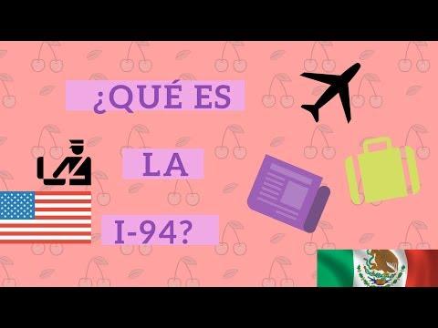 Visa - la I-94