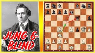Mit 12 Jahren BLIND SPIELEN und Gegner zerstören    Paul Morphy vs. E. Rousseau    New Orleans 1849