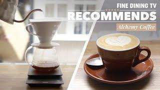The Best Coffee Shops in London, Alchemy