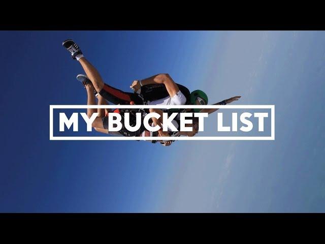 My Bucket List - YouTube