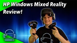 The VR headset by HP - The test! Competition for Lenovo Explorer?! [Virtual Reality]