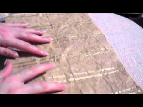 Paper 'crinkles' ASMR