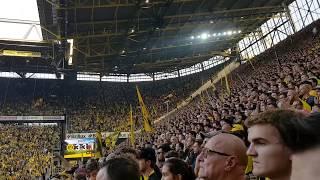 Borussia Dortmund : FC Augsburg 4:3 Highlights Südtribüne Wahnsinns Spiel  06.10.2018