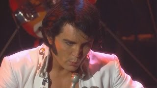 Elvis visits RTÉ's The Saturday Night Show (well the next best thing, Ben Portsmouth)