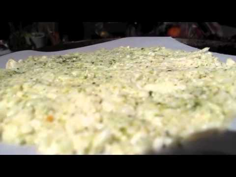 Homemade Cauliflower Rice Pizza Crust