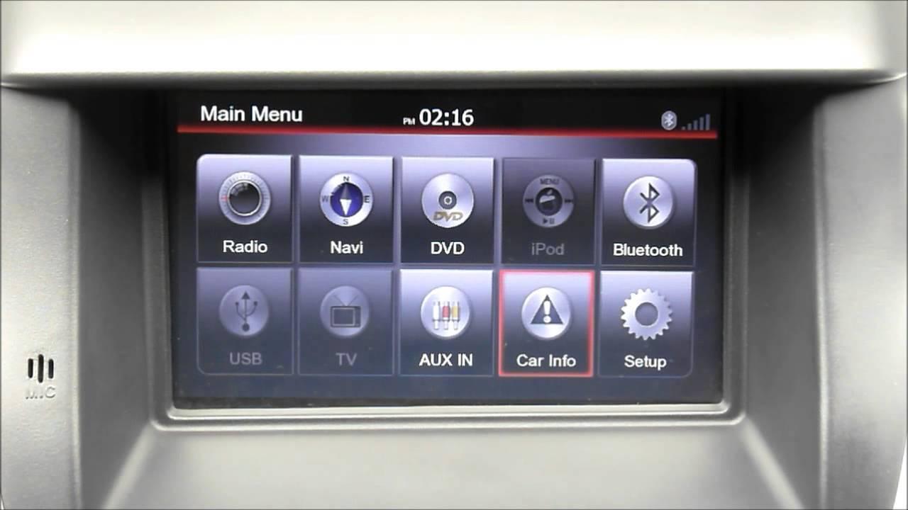 Review Head unit OEM for Mitsubishi Pajero - YouTube