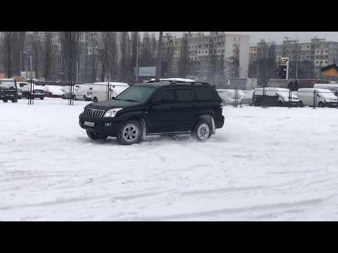 тойота прадо 4.0 дрифт по снегу