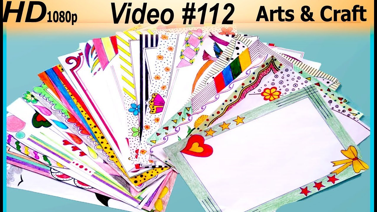 Compilation Of 30 Best Project Design Arts Craft Youtube