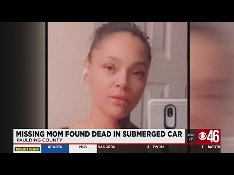 Missing mother found dead in submerged car