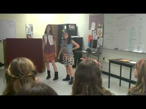 Sophia and Adelaide sing Secondary Characters from [title of show]