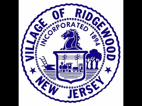20170510 - Village of Ridgewood - Council Meeting